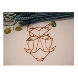 Tête phacochère 02059 embellissement en bois pour vos créations