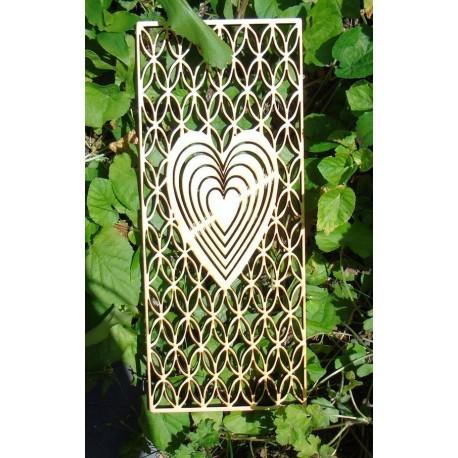 Coeur 2069 en 8 mm une découpe en bois pour vos création
