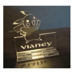 Pokémon marque place 2004 avec gravure
