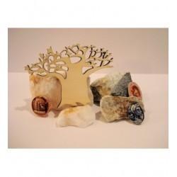 Baobab 1650a bois 6 mm embellissement en bois pour vos créations