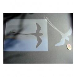 Oiseau paille p0214 gde taille pour vos murs