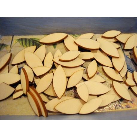 Lot divers formes ba067 embellissement en bois pour vos créations
