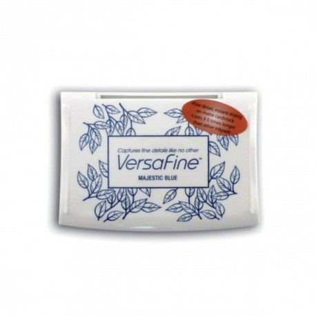 Encre MAT10 tampon versafine couleur Majectic blue