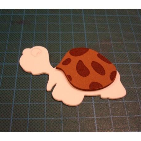 10 tortues 2 couleurs 1866 c en mousse