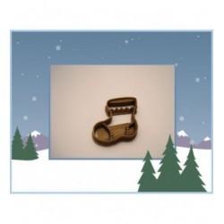 Emporte-pièce chaussette de Noël