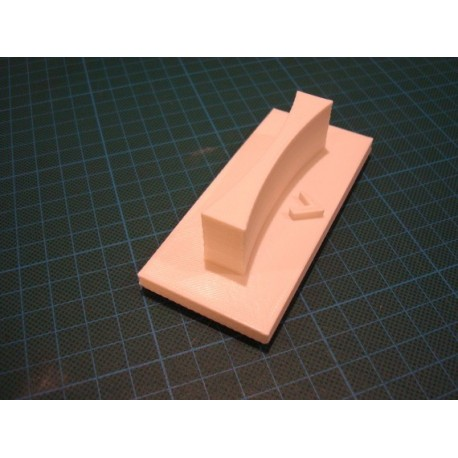 Tampon TSM031 12 x 6 cm manche en abs