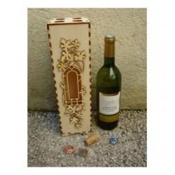 Boite 1798 cadeau pour bouteille de vin