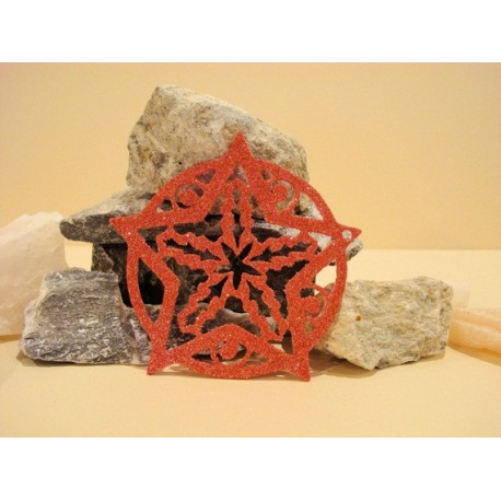 Boule étoile 1795 pour vos réalisation pour Noël