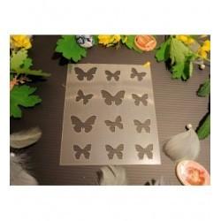 Pochoir papillon P0177 pour vos pages, vos cartes, vos murs
