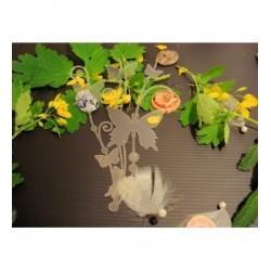 Pochoir papillon P0171 pour vos pages, vos cartes, vos murs