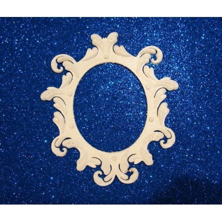 Cadre oval obj036 matière ABS