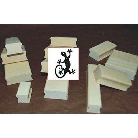 Tampon margoulat TC217 5 x 5 cm ou modèle de votre choix