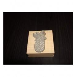 Tampon ananas tc212 5 x 5 cm pour vos pages