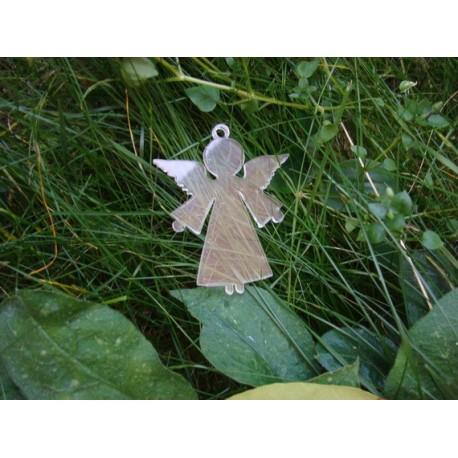 Pampille ange plexi 3 mm 1563 une décoration de sapin