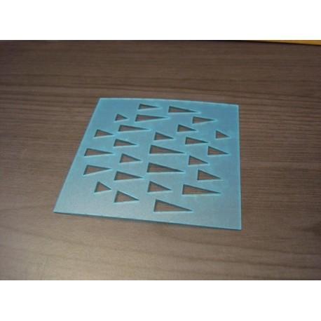 Pochoir multi point P0139 pour vos pages, vos cartes, vos murs