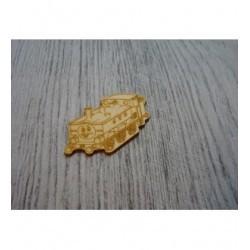 Wagon 1532 embellissement en bois pour vos créations