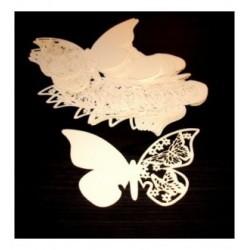 Papillon marque place par 10 01365