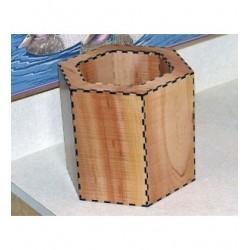 Pot de rangement a décorer hd051 pour offrir un cadeau