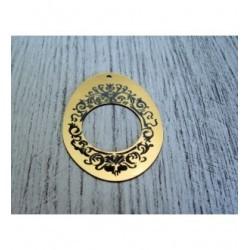 Forme pour bijou 1356 embellissement en bois pour vos créations