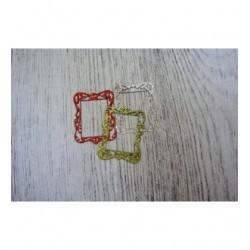 Cadre paillette 11/1321 une découpe en papier paillettes pour vos créations