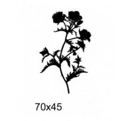 Tampon fleurs tc011 vendu non monté