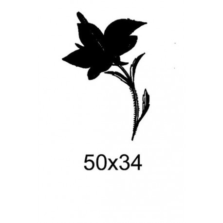 Tampon fleur tc007 vendu non monté