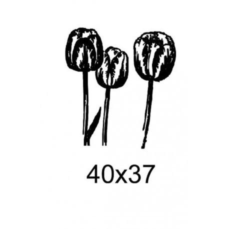 Tampon fleurs tc005 vendu non monté