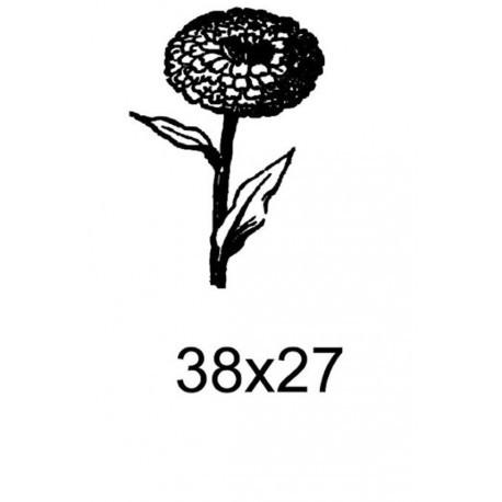 Tampon fleur tc002 vendu non monté