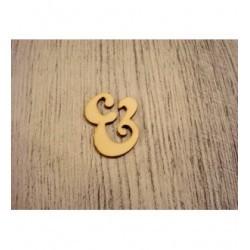 Symbole 1223 embellissement en bois pour vos créations