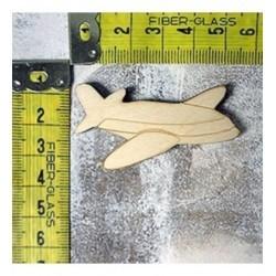 Avion 1369 embellissement en bois pour vos créations