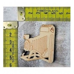 Appareil photo 246 embellissement en bois pour vos créations