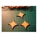 Forme grande bois médium ba020 embellissement en bois pour vos créations