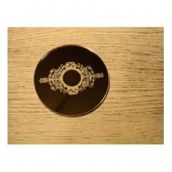 Dessous de verre miroir 1207 embellissement en bois pour vos créations