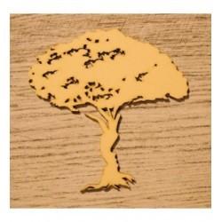 Arbre 1205 embellissement en bois pour vos créations