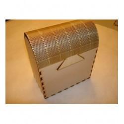 Rangement HD020 une boite avec de jolie créneaux de fermeture