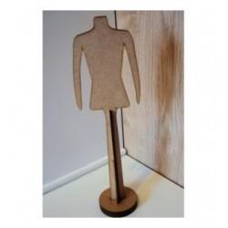 Cintre HD046 pour vêtement de poupée mannequin sur pied démontable