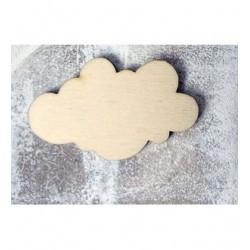 Nuage 3x5 cm 96 un embellissement en bois pour vos créations