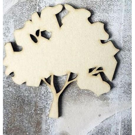 Arbre 267 un embellissement en bois pour vos créations