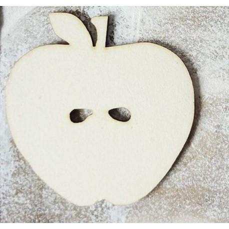 pomme 501 un embellissement en bois pour vos créations