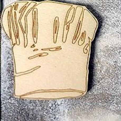 tocque de chef 228 un embellissement en bois pour vos créations