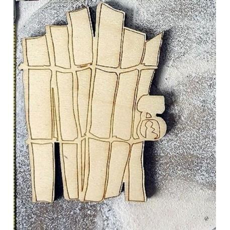 portillon 596 un embellissement en bois pour vos créations
