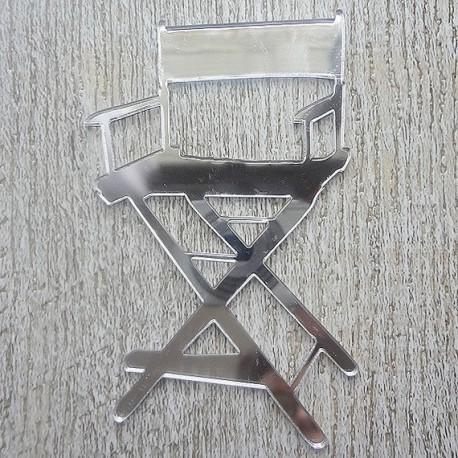 chaise 633 de star dans du plexi pour mettre sur vos carte