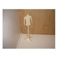 Cintre HD 46A pour vêtement de poupée mannequin sur pied
