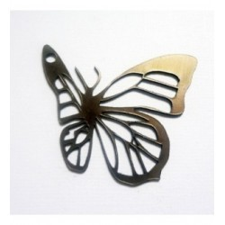 Lot 3 papillons 18 scrapbooking couleur suivant votre choix