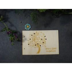 Livre d'or mariage 02101 en bois