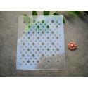 Pochoir Nuit d'étoile PO0238 pour vos pages, vos cartes, vos murs