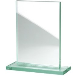 Trophèe rectangle sur pied