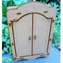 Meuble poupée armoire 02225