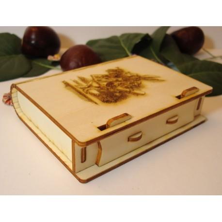 Boite 2144 à fermeture pivotante cadeaux souvenirs trésor