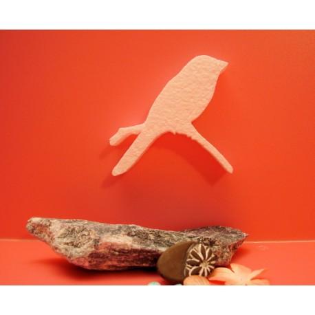 Oiseau sur branche F00015 polystyrène